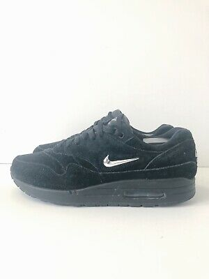 SZ. 10.5 NIKE Air Max 1 SC Jewel Black Chrome 918354 005