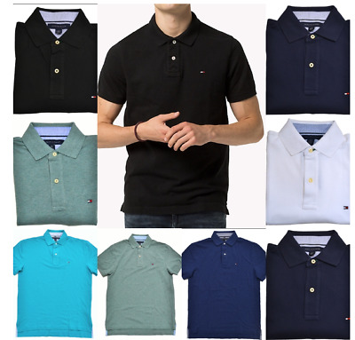 Tommy Hilfiger Men's Short Sleeve Polo T-shirts
