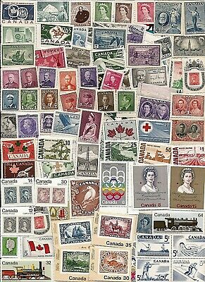 vintage MINT MNH UNUSED FULL GUM CANADA Canadian postage stamps lot CS113