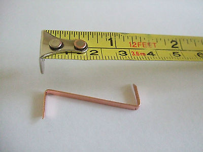 Picture Framing Z Pins/Clips for fitting stretched canvas in frames 10/25/50/100