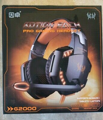 KOTION EACH G2000 Game Headphone Headset Stereo Bass Over-ear Headband Mic Hot