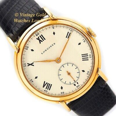 LONGINES CAL.12.68Z MANUAL, 9CT, 1951, 36mm - TIMELESS AND IMMACULATE!