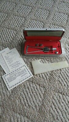 Autoclavable Surgical Ophthalmic Improved Schioetz Tonometer W/ Case