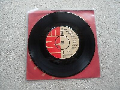 "Kate Bush The Man With The Child In Is Eyes Emi Records Uk 7"" Vinyl Single"