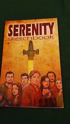 Georges Jeanty Serenity Sketchbook SIGNED Comic Firefly Book Autographed