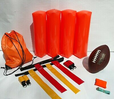 Flag Football Set for 6 Players – High Quality (26 Piece) Practice Kit