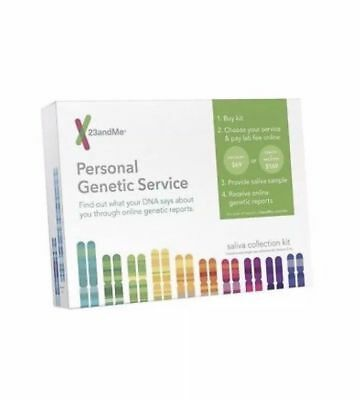 23andme Health & Ancestry DNA Test Service Kit Sealed Saliva Test NEW 23 and Me
