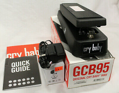 DUNLOP CRY BABY GCB95 Wah Modified Guitar Effects Pedal