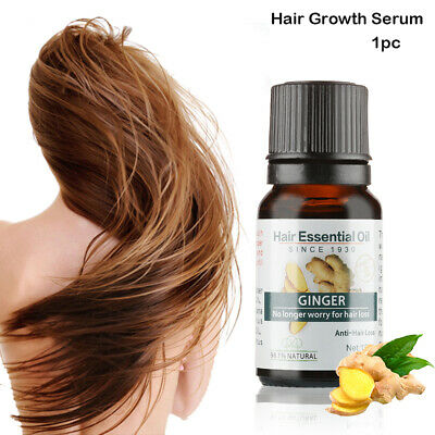 Fast Hair Growth Serum  Ginger Regrowth Essence Pilatory  Anti-hair loss