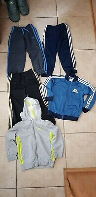 Boys Age 3-4 Years Bundle x 5 items Adidas jacket joggers tops and bottoms vgc