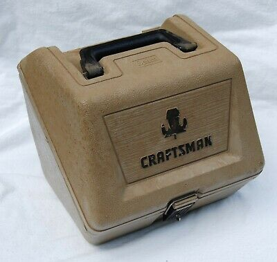 Hard Plastic Empty Case Box Only For Sears Craftsman Router vtg 9-1455