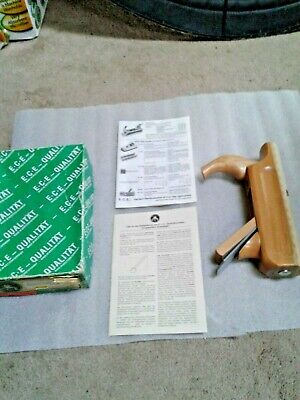 RARE ECE NOS Vintage Rounding plane in Box!! With papers unused