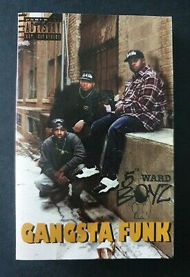 5TH WARD BOYZ - 'Gangsta Funk' 1994 Cassette Tape Album