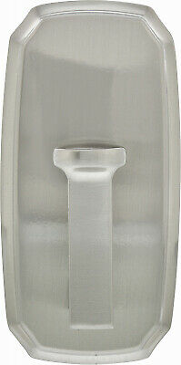 HILLMAN FASTENERS Large Decorative Hook, Scalloped, Satin Nickel, Holds 25-Lbs.