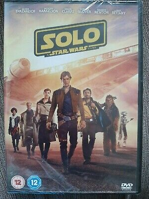 Solo A Star Wars Story DVD - Sealed (unopened) New Cert 12