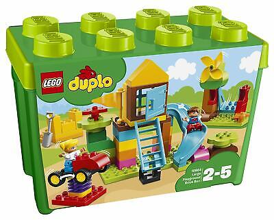 LEGO 10864 DUPLO My First Large Playground Brick Box Toddlers Construction Set