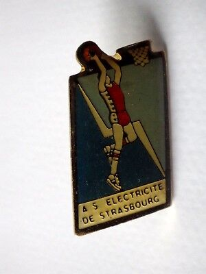 Pin's Vintage + Attachment Year 90s as Electricity Strasbourg/K036