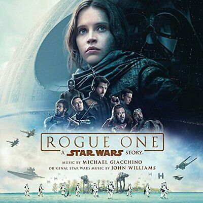 Rogue One: A Star Wars Story - Original Soundtrack - Michael Giacchino (CD)  NEW