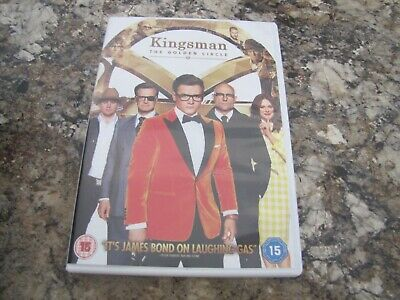 Kingsman The Golden Circle Watched Once Dvd