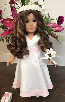 American Girl Doll Communion/flower girl outfit (Retired and very Rare) grace
