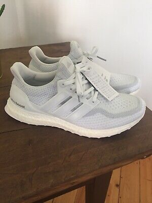 ADIDAS ULTRA BOOST WHITE WHITE 3.0 Trainers shoes 2017 NEW