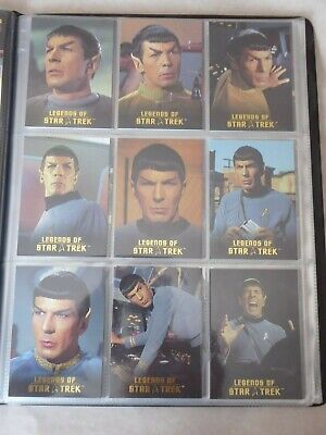 Legends of Star Trek - MR SPOCK  L1-L9  1279/1701- Rittenhouse card set