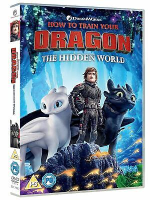 How to Train Your Dragon - The Hidden World (DVD 2019) Jay Baruchel New / Sealed