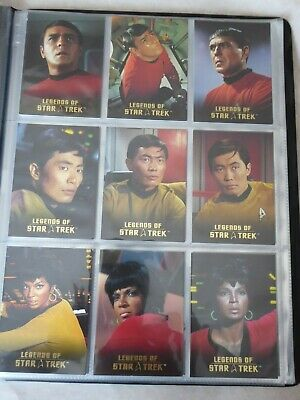 Legends of Star Trek - SCOTTY / SULU / UHURA  L1-L9  1137/1701-  card set