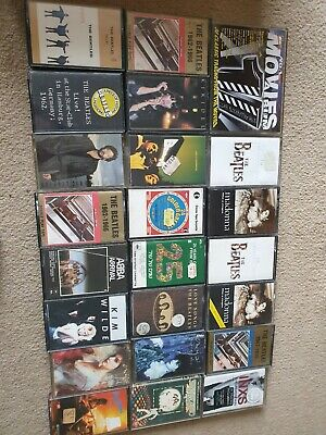 Music cassette tapes job lot around 70  cassettes the doors  MADONNA sting