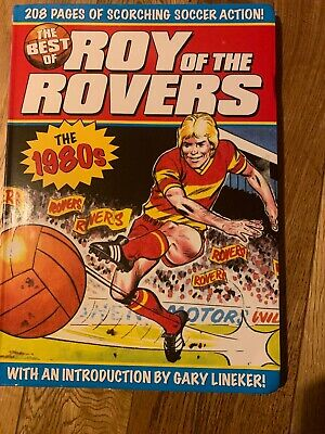 The Best of Roy of the Rovers book the 1980`s