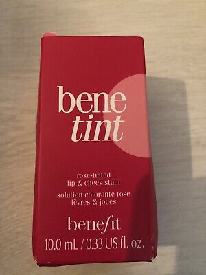 Benefit Bene Tint Lip And Cheek Stain New With Box Full Size