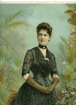 New 8x10 Photo First Lady Frances Folsom Cleveland Wife Of