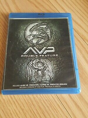 Alien vs. Predator/Alien vs. Predator: Requiem (Blu-ray Disc, 2014, 2-Disc Set)