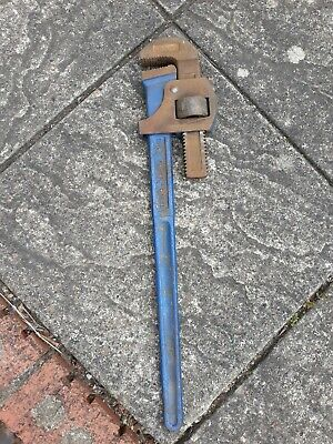 "Vintage Record 24"" Stilsons Pipe Wrench"