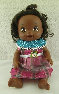 """Doll Clothes Handmade Plaid Dress 14""""-16"""" Polka-dot Doll Outfit fits Baby Alive"""