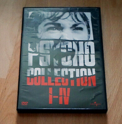 DVD ++ Psycho Collection (1-4) ++ I, II, III, IV ++ Norman Bates Box 4 DVDs