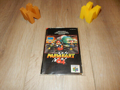 PAL N64: Mario Kart 64 Manual Only NO GAME (FR - IT - ES -NL) Nintendo 64
