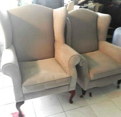 Laura Ashley Wingback Armchairs: Southwold & Denbigh