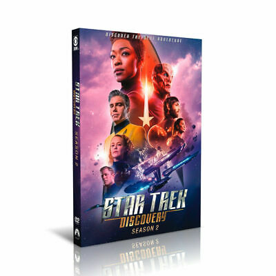 Star Trek Discovery Season 2 DVD  Complete Box Set- 4 discs