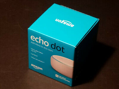 Amazon Echo Dot 3rd Gen Latest 2018 Heather with Alexa Brand New