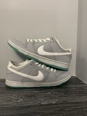 huge selection of 191f5 76c30 NIKE SB DUNK Low Premium Prm Marty McFly Air Mag Sz 10 QS 313170-022 Grey  VNDS