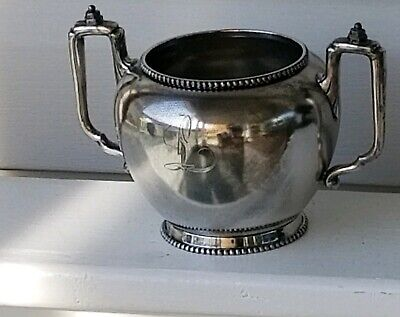 Vintage Wilcox Silver Plate Co. Quadruple Plate Handled Loving Cup
