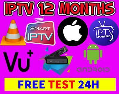 ✓IPTV 6 Months Subscription Smart IPTV ,FIRESTICK,MAG BOX With Adult+Free TEST✓✓