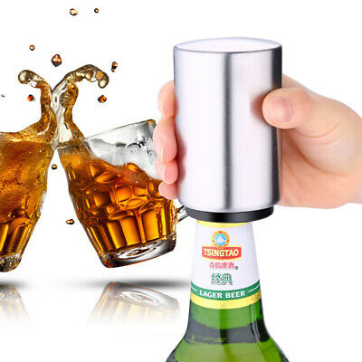 1Pack: Automatic  Stainless Steel Beer Opener For Party Bar Bottle Soda Cap Wine