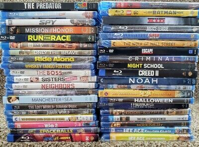 Lot Of 40 Movies -  Blu-Ray Bluray 40+ Discs✔☆Mint☆ ✔No Digital ✔Free Shipping
