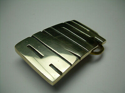 ANDY Vintage Solid Brass Name Cut Out Belt Buckle from the 70's