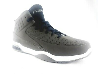 98de76ed6a1580 Mens FUBU The Collection Size 9.5 Shoes Basketball Hightop Gray New Sneakers