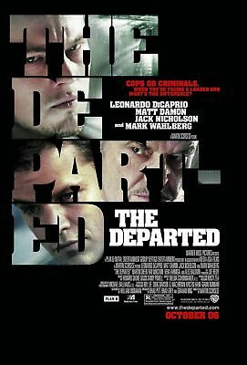 The Departed (2006) - Teaser - Original movie theater poster 27x40 Double-sided