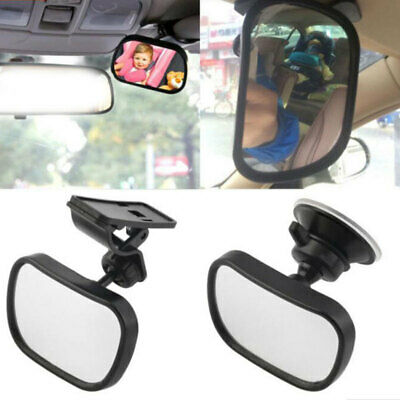 Back Baby Mirror Car Seat Cover Infant Child Toddler Rear Safety View New rty
