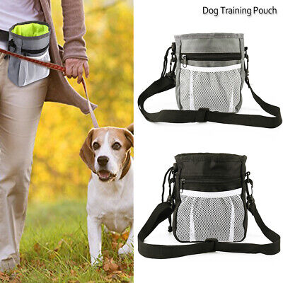 Puppy Pet Dog Obedience Training Treat Feed Bait Food Snack Pouch Belt Bags